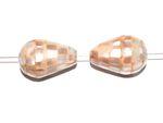 Abalone Paua Seeohren Seeopal Muschel Perlmutt Perlen Mosaik-Tropfen #MUS1-10