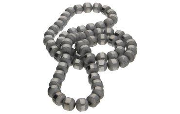 Glasperlen galvanisiert 9mm Silber AB Beads DIY 1 Strang #G603 – Bild 1