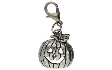 Charms Anhänger Bettelarmband Kürbiskopf Halloween #A07494