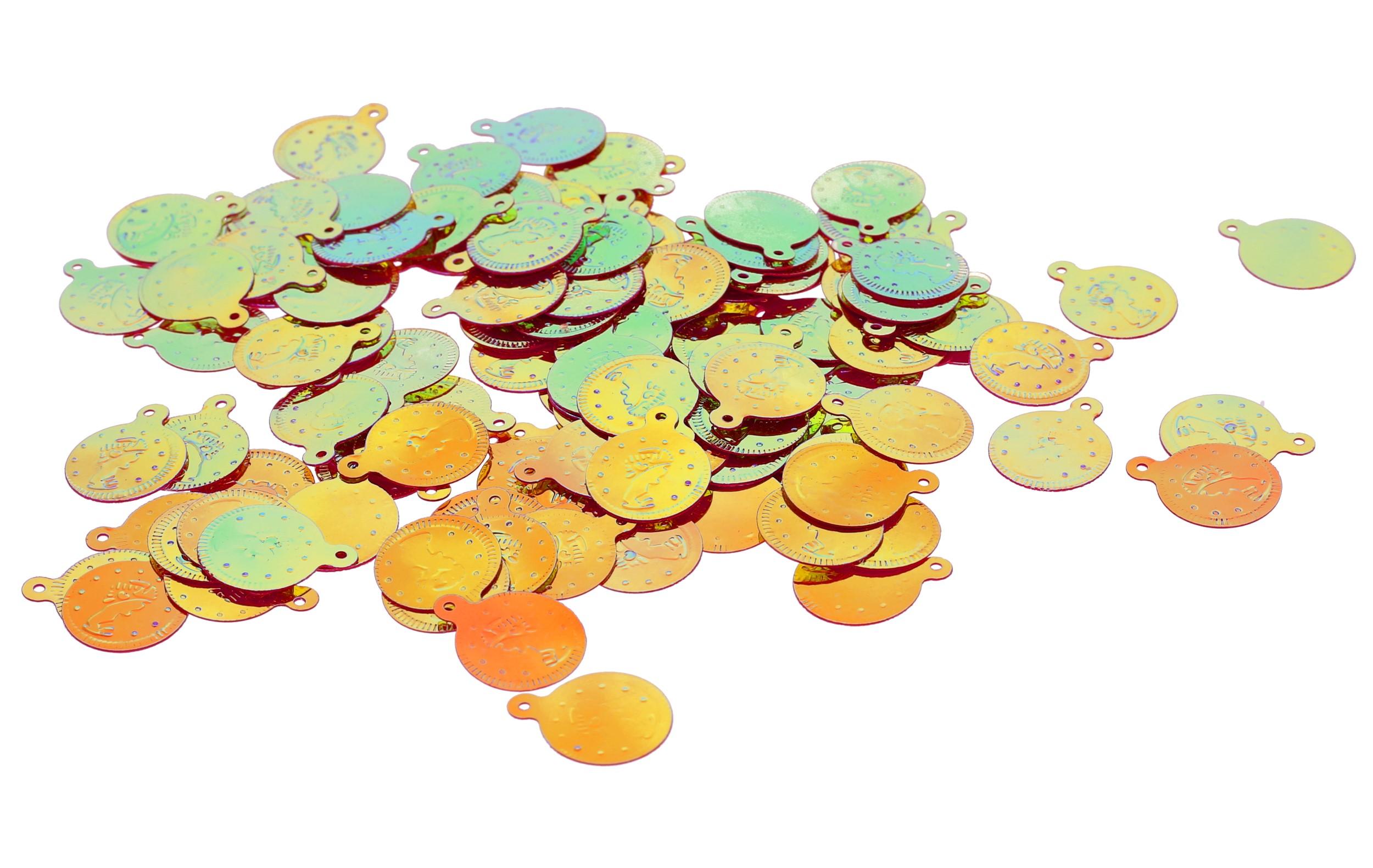 Bauchtanz Fasching Deko Bastel Munzen Gold Ab 200 Stuck J14 Ebay