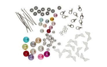 DIY Set für 10 Perlenengel Schutzengel in verschiedenen Farben / Hochzeit Konfirmation Geburtstag Weihnacht Taufe Kommunion Geschenk Gastgeschenk EAS3 – Bild 2