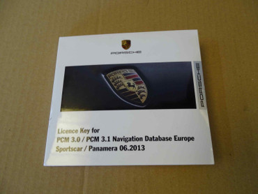 Porsche Panamera Navigation Database Europe – Bild 1