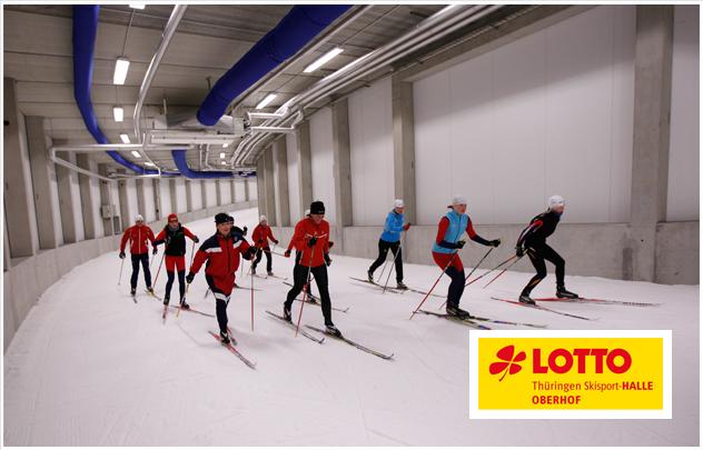 LOTTO Thüringen Ski-Halle Oberhof