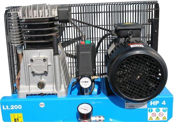 GÜDE Kompressor 480/10/200 ST 200 Liter Druckluft 1747 NEU – Bild 3