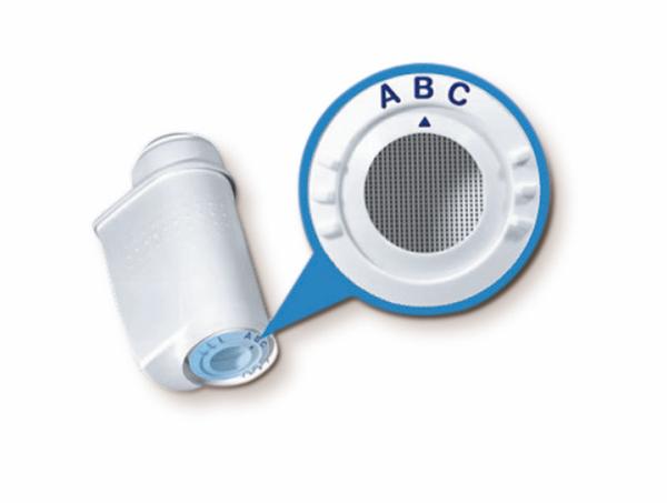 BOSCH SIEMENS 4 x TZ70003 Brita Wasserfilter Intenza für Kaffeevollautomaten – Bild 3