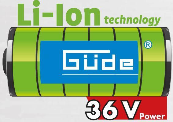 GÜDE Akku Kettensäge 300/36 Li-Ion Set 95680 incl. Akku 36V/3,0 u. Ladegerät NEU – Bild 5