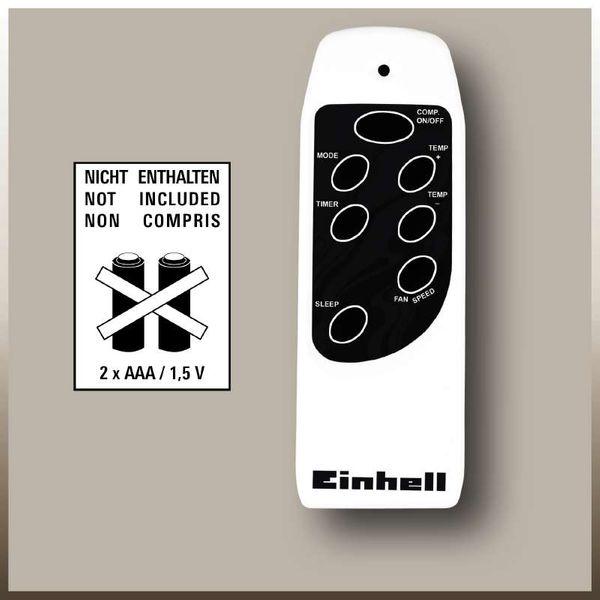 EINHELL MK 2300 E Lokales Klimagerät Klimaanlage einstellbarer Vorlauf 2300W NEU – Bild 6