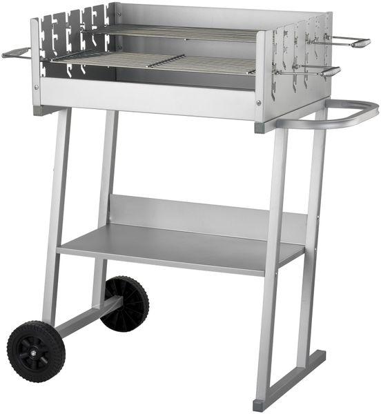 EL FUEGO AY421 Grillwagen TOLEDO Grill BBQ fahrbar Holzkohlegrill Holzkohle NEU