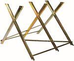 ATROX Holzsägebock AY514 Sägebock bis 180 kg Metall Holzschneidebock NEU 001