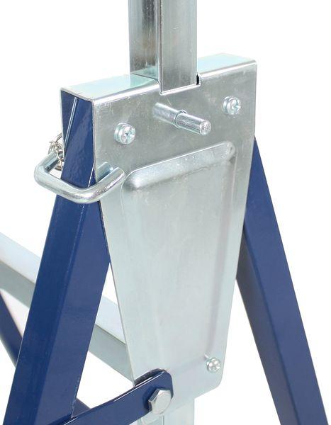 ATROX AY519 Klappbock 2 Stück bis 200 kg höhenverstellbar Metall Stützbock NEU – Bild 5