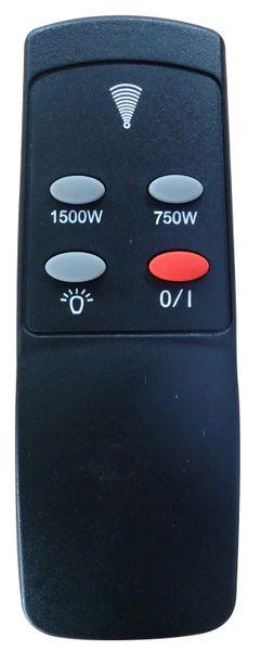 EL FUEGO Elektrokamin LUGANO AY608 Heizung Ofen Kamin 750/1500 Watt mit FB NEU – Bild 8