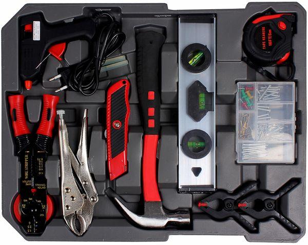 ATROX AY359 Werkzeugkoffer Trolley 186 Teile Werkzeugbox Aluminiumkffer NEU – Bild 2