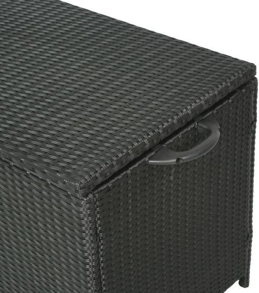 GIARDINO AY454 Aufbewahrungsbox Kissenbox Gartentruhe Polyrattan Auflagenbox NEU – Bild 5