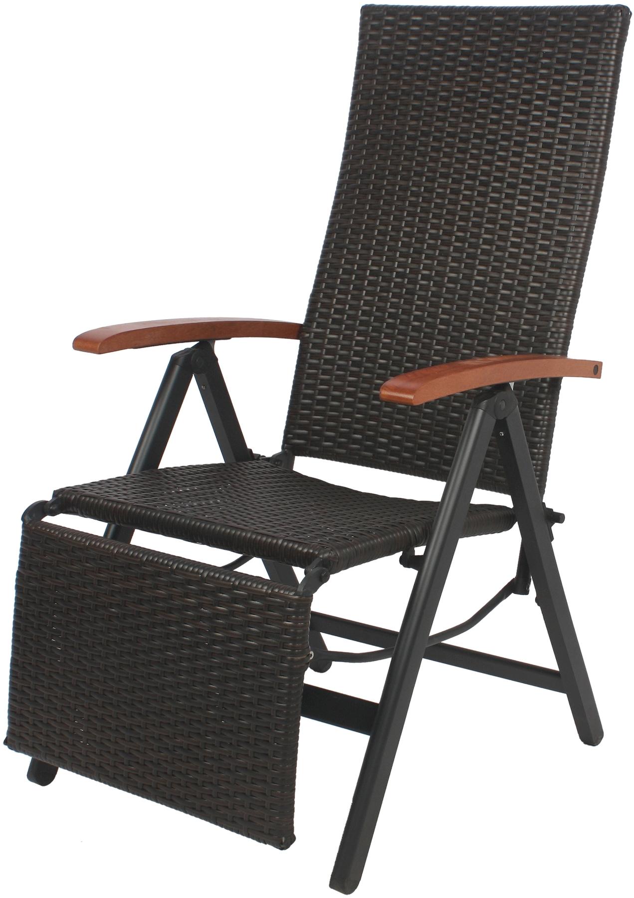 Giardino ay880 rattan aluminium stuhl hochlehner - Rattan giardino ...