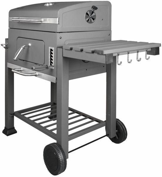 EL FUEGO AY373 DESIGN Holzkohlegrill OTTAWA Grill Grillwagen fahrbar NEU – Bild 2