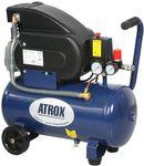 ATROX AY358 Kompressor 24 Liter 8 bar 1,5 PS 155 l/min Druckluft Pressluft NEU 001