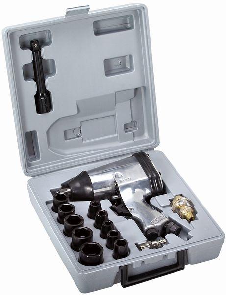 ATROX AY671 Druckluft Schlagschrauber + Zubehör + Koffer Druckluftschrauber NEU – Bild 1