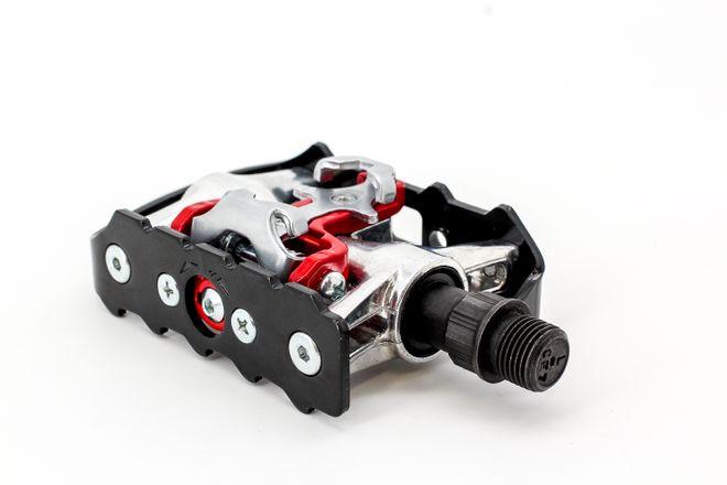XLC MTB/Trekking System Pedal PD-S01, 112 x 65 mm, Schwarz / Silber – Bild 3