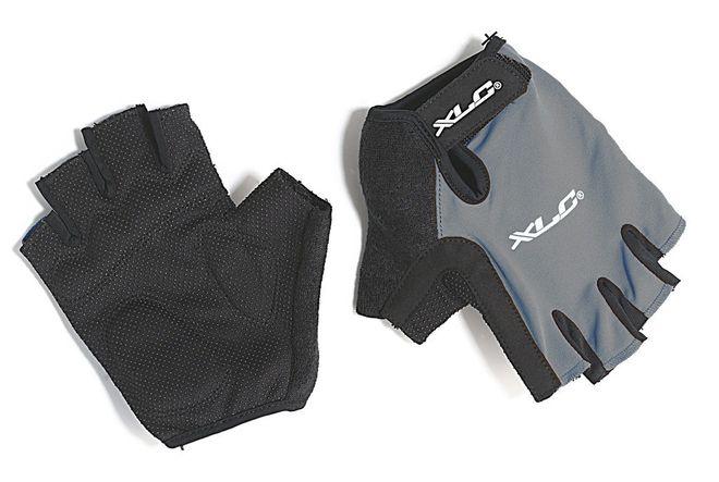 XLC Apollo CG-S03 Fahrrad Handschuhe - grau schwarz