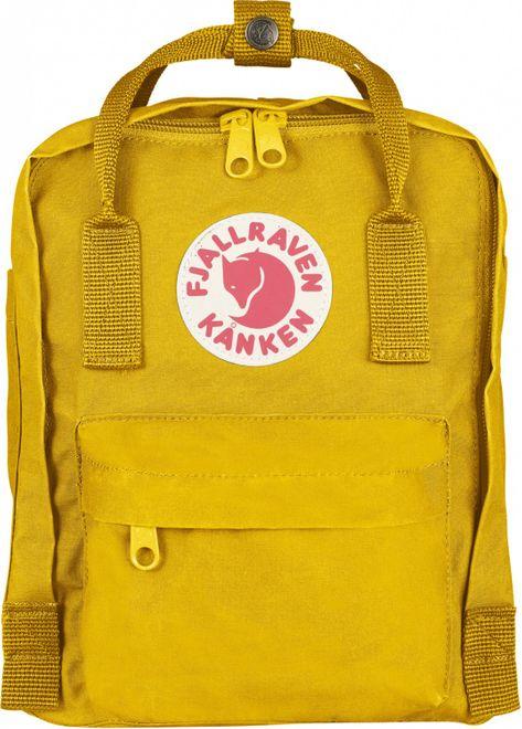 Fjällräven Kanken Mini (29x20x13cm) Rucksack - Warm Yellow – Bild 1