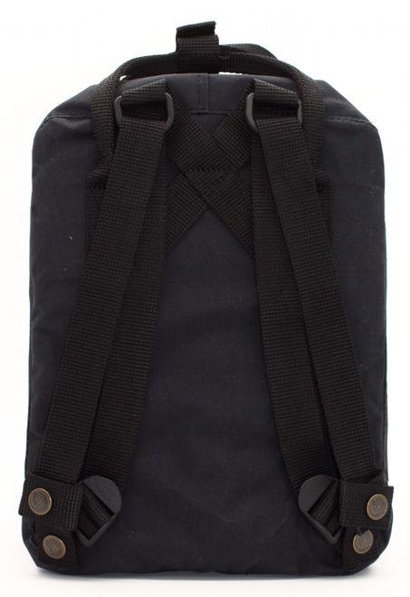 Fjällräven Kanken Mini (29x20x13cm) Rucksack - Black – Bild 3