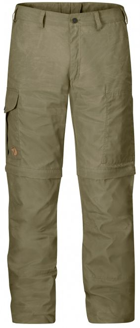 Fjällräven Karl Zip-Off Trousers Herren Trekkinghose - Light Khaki – Bild 1