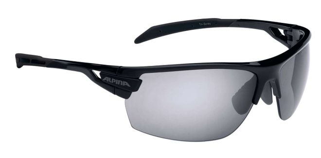 Alpina Tri-Scray Sportbrille - black
