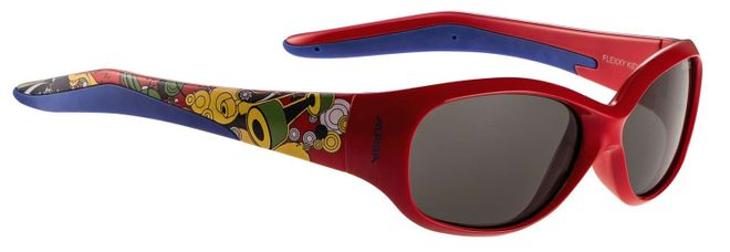 Alpina Flexxy Kids Kinder Sonnenbrille - red