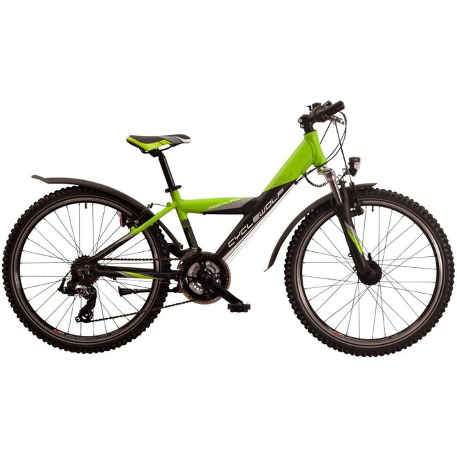 CYCLEWOLF Mescalero S24 Y-Type - black green