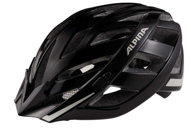Alpina Panoma City Fahrradhelm - black matt reflective