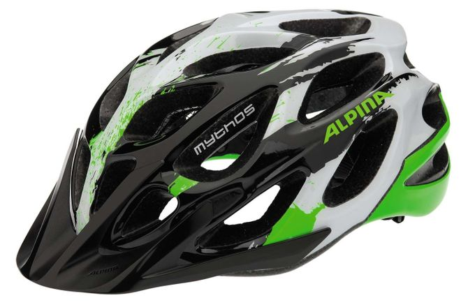 Alpina Mythos 2.0 Fahrradhelm - black white green