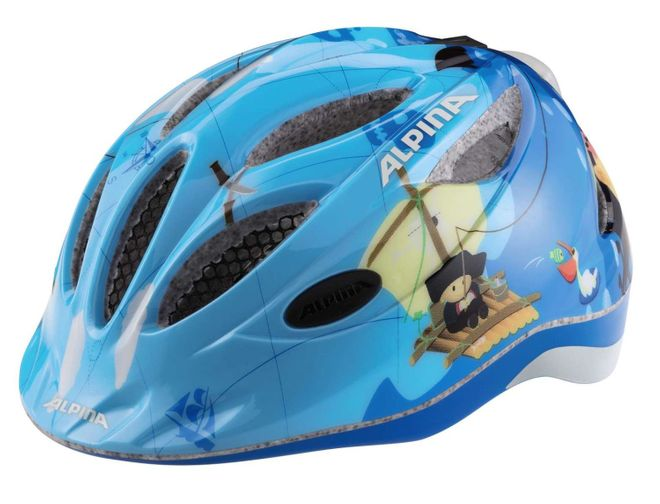 Alpina Gamma 2.0 Flash Kinder Fahrradhelm - pirate