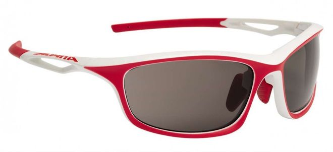ALPINA Sorcery C+ Sportbrille - white red matt