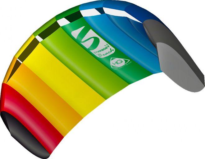 HQ Symphony Beach III 1.3 Rainbow Sportkite – Bild 1