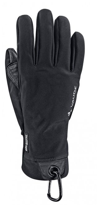 Vaude Lagalp Softshell Gloves - black – Bild 2
