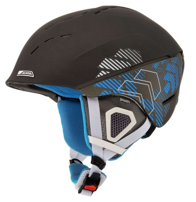 Alpina Spice Skihelm - darksilver blue matt