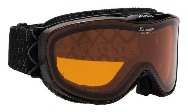 Alpina Challenge S 2.0 DH Skibrille - black transparent