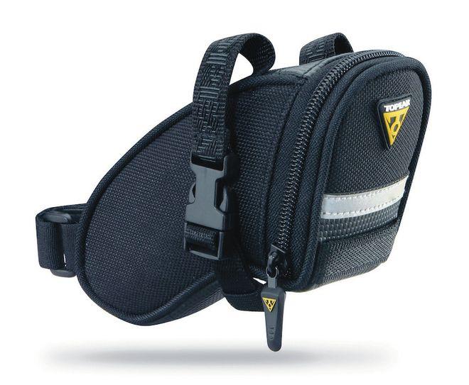 Topeak Fahrrad Satteltasche Aero Wedge Pack Strap micro - schwarz