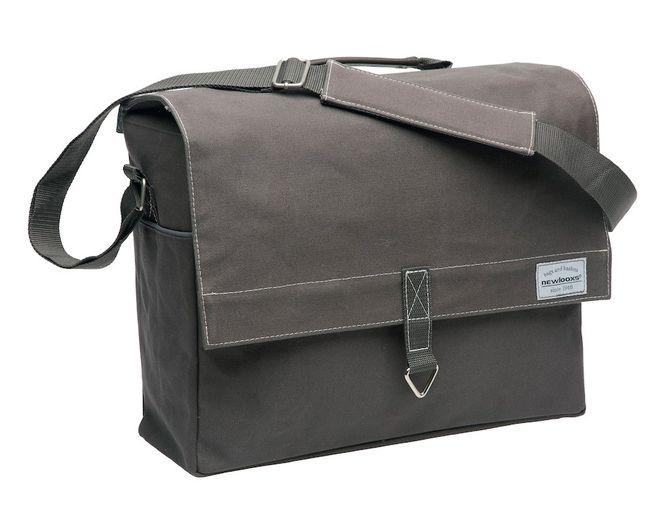New Looxs Schultertasche Dock Messenger Canvas - braun-grau