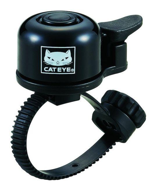 Cat Eye Mini-Glocke Alu - schwarz