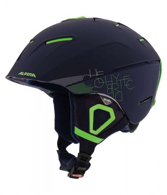 Alpina Cheos Skihelm - navy matt