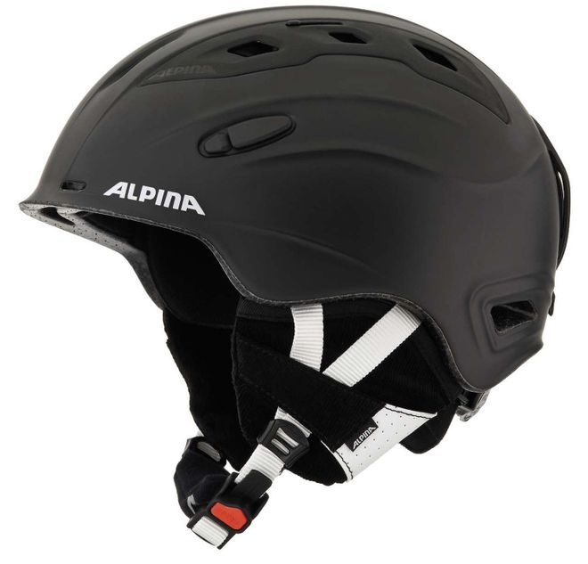 Alpina Snow Mythos Skihelm - black matt