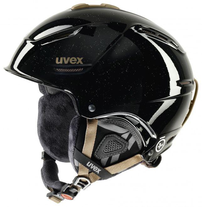 Uvex p1us pro WL Damen-Skihelm - black skyfall