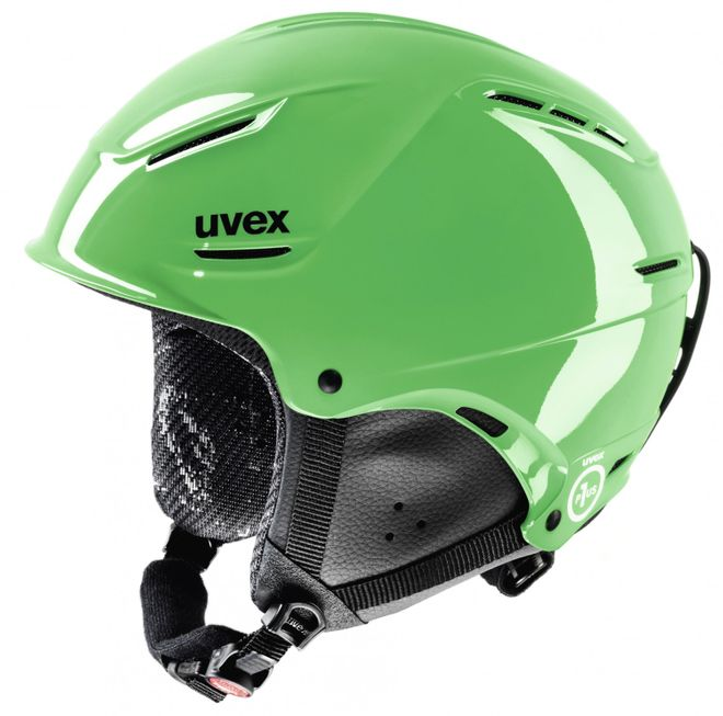 Uvex P1us Junior Jugend-Skihelm - green