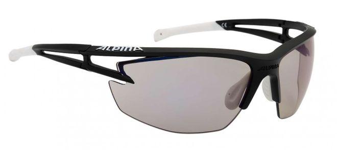 Alpina Eye-5 HR VLM+ Sportbrille - black blatt white
