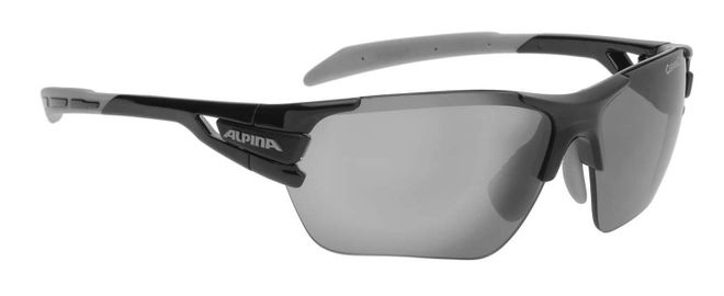 Alpina Tri-Scray S Sportbrille - black grey