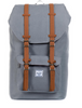 Herschel Little America Rucksack - grey tan synthetic leather 001