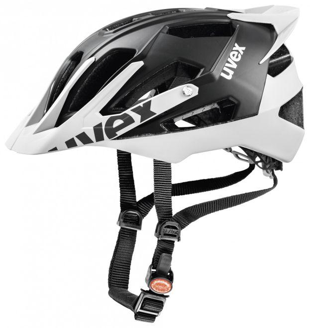 Uvex Quatro Pro Fahrradhelm - black white mat