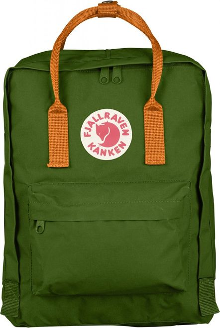 Fjällräven Kanken Rucksack - Leaf Green/Burnt Orange
