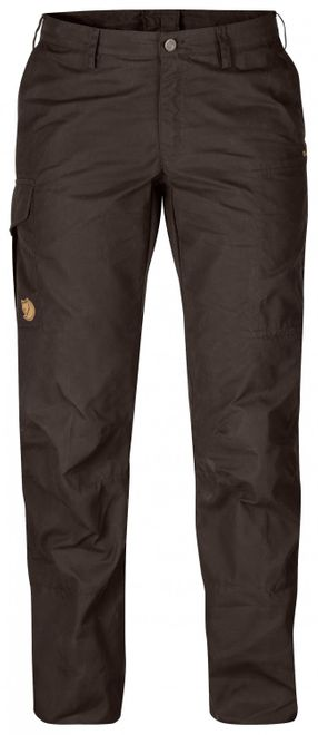 Fjällräven Karla Trousers Damen Trekkinghose - Black/Brown – Bild 1
